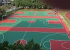 惠州市丙烯酸PVC硅PU篮球场地涂料防水地坪漆施工公司