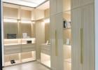 凯米特全屋全铝定制现代时尚卧室衣帽间半开放衣橱多层大容量储物