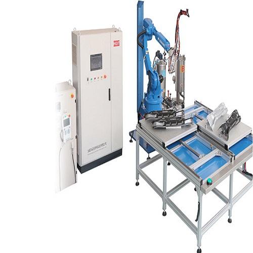 HG-TJ612 双组份六轴机器人涂胶机