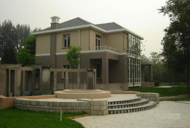 海联坚端轻钢别墅,不用砖不用土,20天就能建成