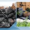 庭院假山石黑山石异形加工大中型假山设计