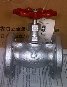 日本日立葫芦牌截止阀 进口20K截止阀