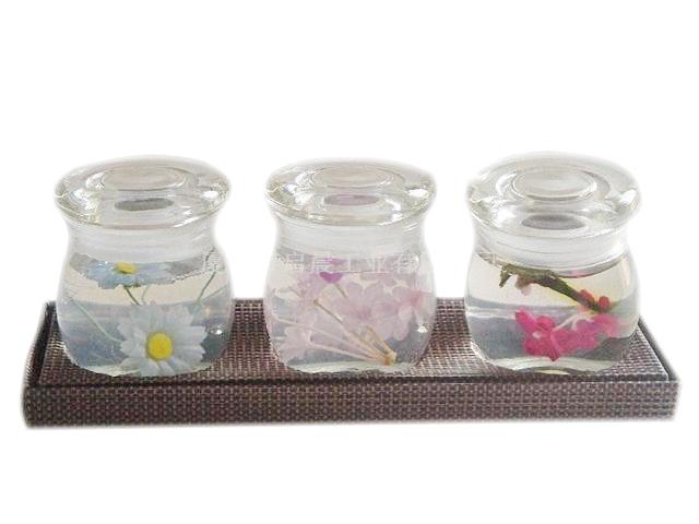 花卉透明香膏