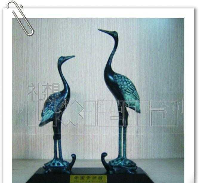 供应仿古青铜器,青铜鹤