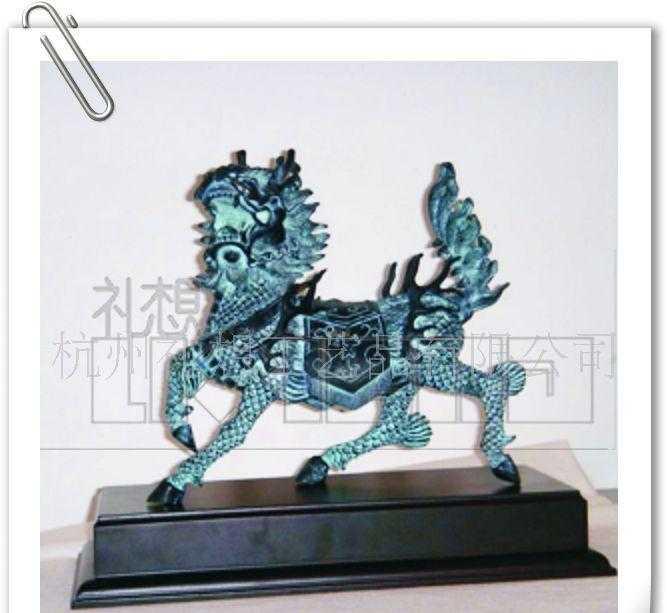 供应仿古青铜器,仿古工艺摆件,火麒麟