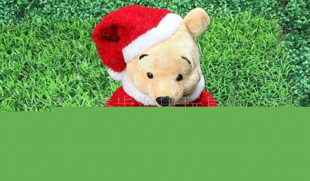 供应圣诞用品,圣诞礼品,圣诞维尼熊公仔