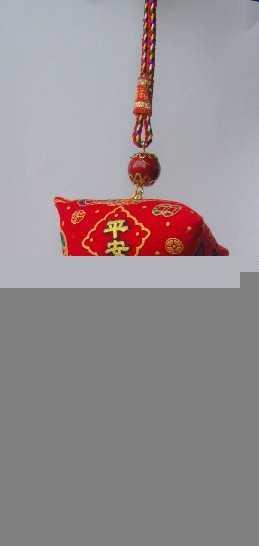 香港春节年年有鱼香包、情侣粽子锦囊纪念品车用吊饰出入平安福袋