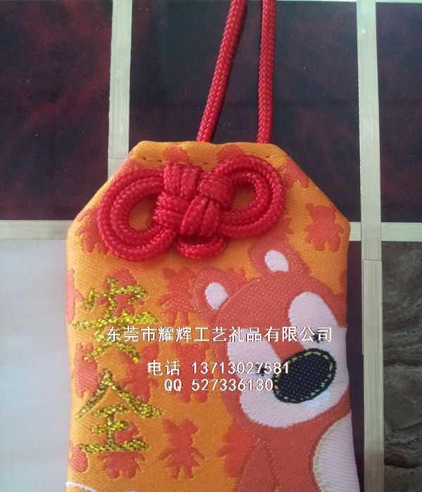 香港春节玉器珠宝吊坠包装布艺礼物小收纳袋车用香包锦囊