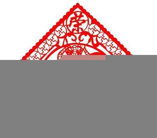 供应民间春节用品批发剪纸 对联 福字