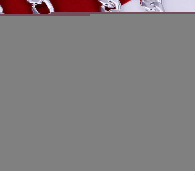 时尚流行 精美个性 欧美925银饰 10M三间一项链 饰品批发 N013-22