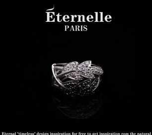欧美时尚首饰品 法国eternelle925纯银蝴蝶戒指 指环 生日送女友
