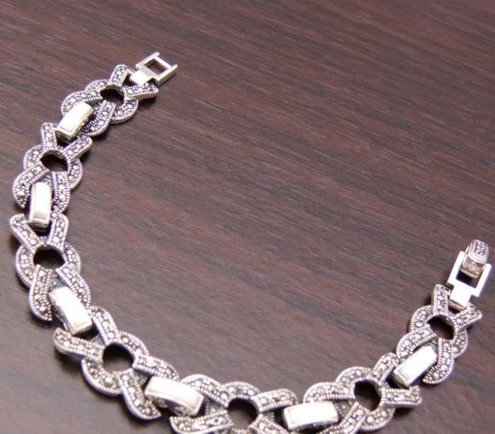 五件起批|手链|玛瑙手链|泰银手链|925纯银手链|L7063