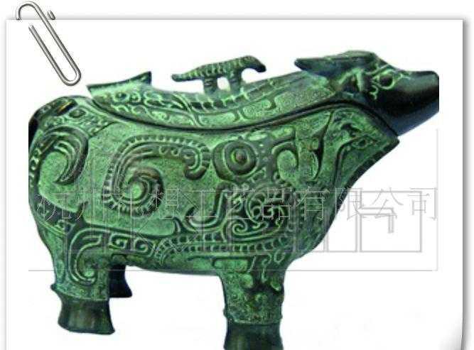 供应仿古青铜器,仿古工艺品,牛尊