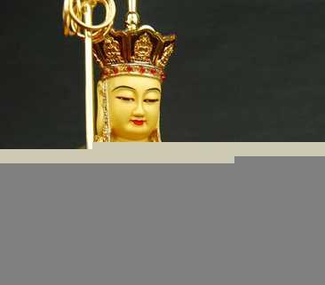 【名山佛教用品】10寸地藏王菩萨/铜鎏金/佛像
