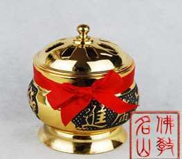 【名山佛教用品】3.5寸如意坛香炉