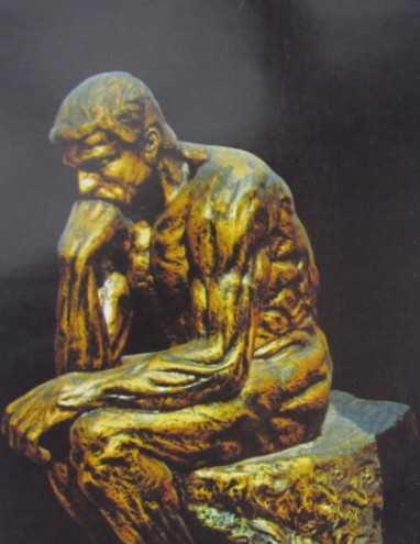 厂家订制工艺品雕塑 欧式古典人物思想者雕像