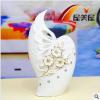 供应陶瓷工艺品 家居装饰品 陶瓷花瓶 0069