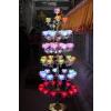 供应中山奥丰佛具订做大型莲花灯,大型LED七彩水晶49品莲花灯树
