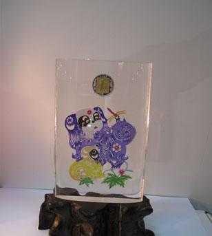 供应有机玻璃无缝热压产品 亚克力纪念品 水晶工艺品