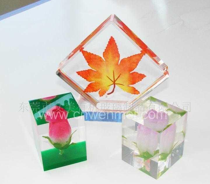 供应水晶胶工艺品、无缝热压产品