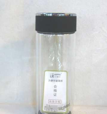 LG1226-280富光力德尔瑞致水晶玻璃杯 水晶底杯子 玻璃口杯