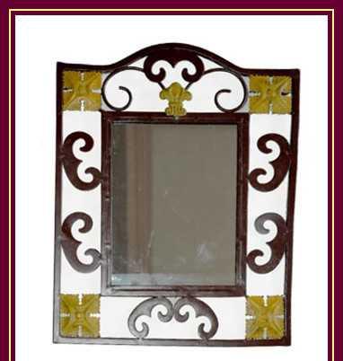 铁艺镜框 方形镜框 装饰镜框 铁艺镜子