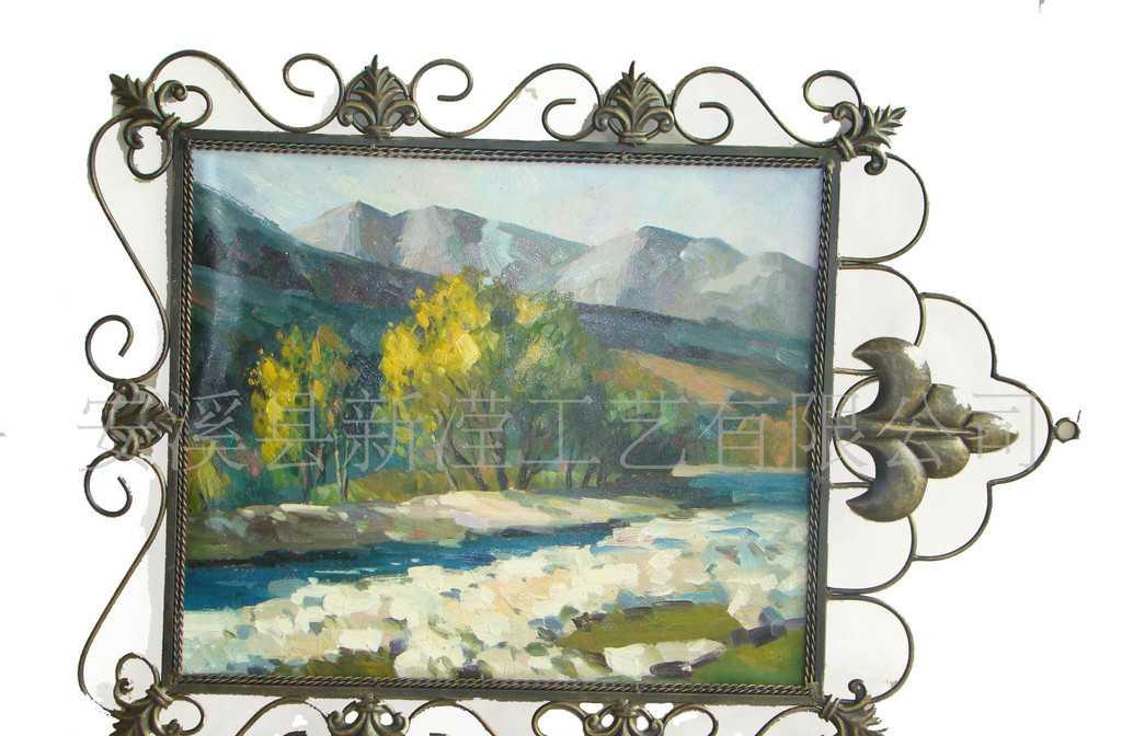 特价 新滢 金属画框 镜框 铁艺油画框