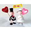 供应铁皮娃娃创意结婚礼品情侣摆件家居饰品实用浪漫婚庆情人节礼物品 铁皮娃娃