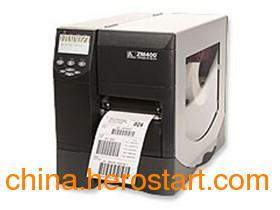 供应深圳Zeba ZM400斑马工业条码打印机