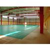 供应室内羽毛球场馆塑胶地板/水晶纱羽毛球场地专用地板/天津河北室内场地地板专业铺设