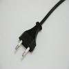 供应欧式VDE认证二芯插头电源线