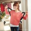 供应2013韩版女装 早春新款 时尚简约纯色气质圆领修身女式毛衣0516