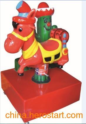 供应沙漠之驴 2013新款玻璃钢儿童摇摇车 中山儿童游乐设备