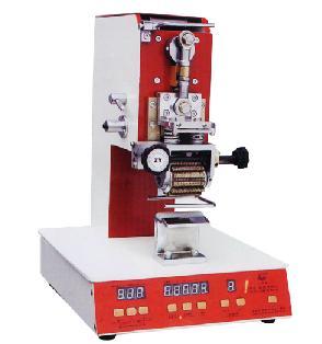 TH-B触摸式单排高架型里皮打码机