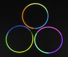 供应三色发光项圈(5*580MM、6*580MM)
