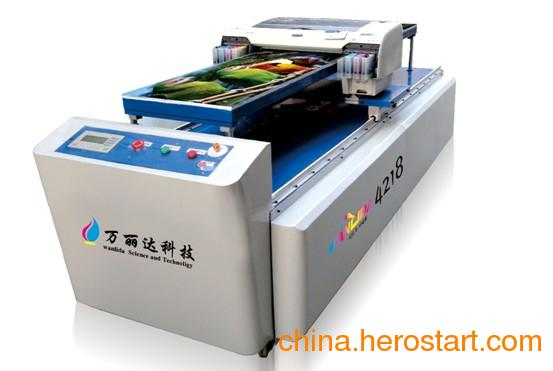 供应江西赣州万能墙砖UV平板喷绘机