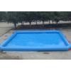 供应pvc儿童充气钓鱼水池 游泳池