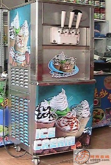 北京冰激凌机/三色冰激凌机/冰激凌机最低