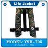 供应气胀脖挂式救生衣YSH705