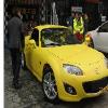 马自达MX5敞篷跑车车身改哑光黄就在成都巴脸谱feflaewafe