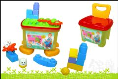 供应收纳椅积木玩具