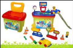 供应收纳椅城市玩具