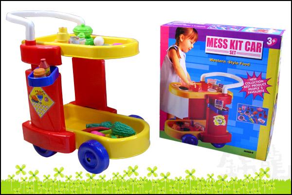 供应推车中餐玩具