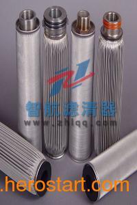 供应焊接结构的不锈钢滤芯