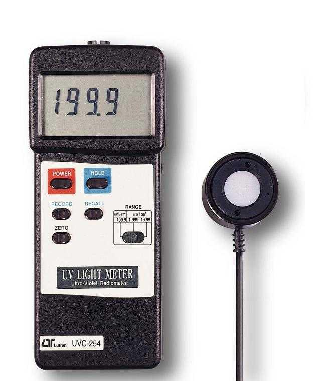 UVC254紫外线强度计、UVC-254台湾路昌LUTRON紫外线辐照计