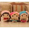 供应童心毛绒玩具厂18CM安吉拉娃娃玩具礼品订做