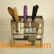供应新款不锈钢厨房刀架