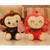 供应广东广州童心毛绒玩具厂大量生产情侣Q猴公仔