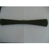 供应河北铁丝厂家生产的黑色的截断的22号的钢筋绑扎丝