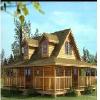 樟子松木制别墅工程——【荐】高质量的木结构建筑建造